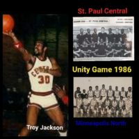 Twin Cities Reunion History:  STP Central & Mpls. North 1986 Basketball Teams took a major stance for Unity